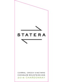 2016 Statera Cellars Corral Creek Chardonnay